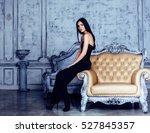 beauty young brunette woman in... | Shutterstock . vector #527845357