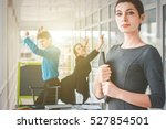 young business colleagues.  | Shutterstock . vector #527854501