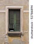 very old window   Shutterstock . vector #52786894