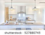 Luxury Kitchen With The Counte...