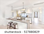 Modern Kitchen Interior At Day...