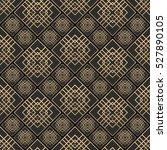 seamless pattern in art deco... | Shutterstock .eps vector #527890105