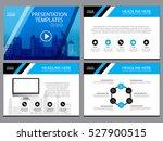 business template design set...   Shutterstock .eps vector #527900515