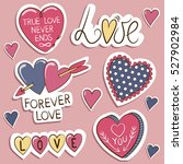 Pack Of Love Stickers  With...