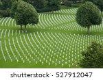 American War Cemetery Seen Fro...