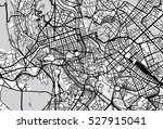 vector city map of rome  italy | Shutterstock .eps vector #527915041
