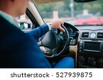 businessman driving | Shutterstock . vector #527939875