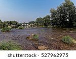 a nice landscape view in... | Shutterstock . vector #527962975