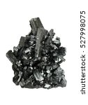 Small photo of Manganite from Ilfeld, Harz Mts., Thuringia, Germany.