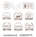 set of organic stamps  labels ...