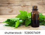 Nettle Essence Oil In A Small...