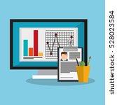 human resources design | Shutterstock .eps vector #528023584