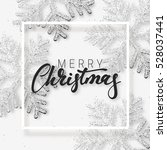 christmas background with... | Shutterstock .eps vector #528037441