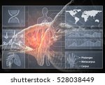 media medicine background image ... | Shutterstock . vector #528038449