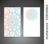 business card. vintage... | Shutterstock .eps vector #528040861