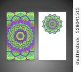 business card. vintage... | Shutterstock .eps vector #528041515