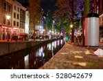 Red Light District At Night. I...