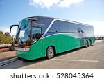tour bus at west approach to... | Shutterstock . vector #528045364