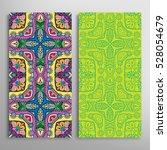 vertical seamless patterns set  ...   Shutterstock .eps vector #528054679