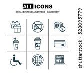 set of 9 transportation icons....
