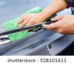 hands off man working cleaning... | Shutterstock . vector #528101611
