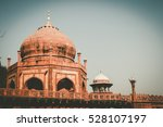 vintage film style at the taj... | Shutterstock . vector #528107197