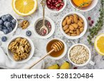 ingredients for a healthy... | Shutterstock . vector #528120484