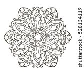 mandala. ethnic decorative... | Shutterstock .eps vector #528134119