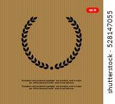laurel wreath icon | Shutterstock .eps vector #528147055