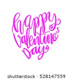 happy valentine's day... | Shutterstock .eps vector #528147559