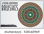 Set Of Viking Knotwork Brushes...