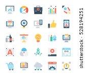 design and development colored... | Shutterstock .eps vector #528194251