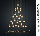 Christmas Bulb Lights Arranged...
