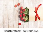 love or valentine's day concept.... | Shutterstock . vector #528204661