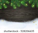 christmas   new year winter... | Shutterstock .eps vector #528206635