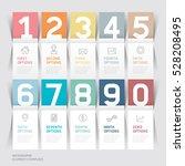 calendar 2017 print template... | Shutterstock .eps vector #528208495