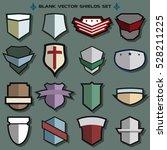 vector shields sport and... | Shutterstock .eps vector #528211225