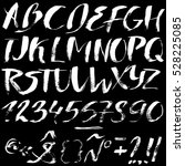Hand Drawn Font Made By Dry...