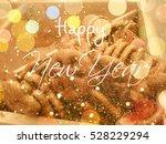 beautiful cookies background  ... | Shutterstock . vector #528229294