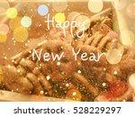 beautiful cookies background  ... | Shutterstock . vector #528229297