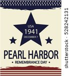 pearl harbor remembrance day.... | Shutterstock .eps vector #528242131