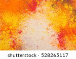 holi colors background.... | Shutterstock . vector #528265117