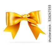 golden bow with gradient mesh ... | Shutterstock .eps vector #528267355