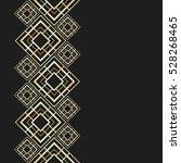 golden frame in luxury style.... | Shutterstock .eps vector #528268465