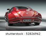 red sports car.  my own car... | Shutterstock . vector #52826962