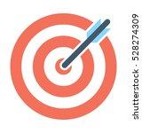 target vector icon | Shutterstock .eps vector #528274309