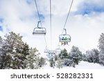 andora grandvalira lifts   ski... | Shutterstock . vector #528282331
