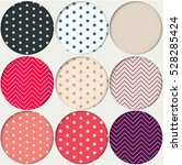 vector patterns texture with... | Shutterstock .eps vector #528285424