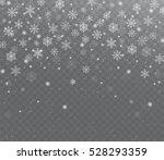 falling shining transparent... | Shutterstock .eps vector #528293359