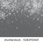 falling shining transparent... | Shutterstock .eps vector #528293365